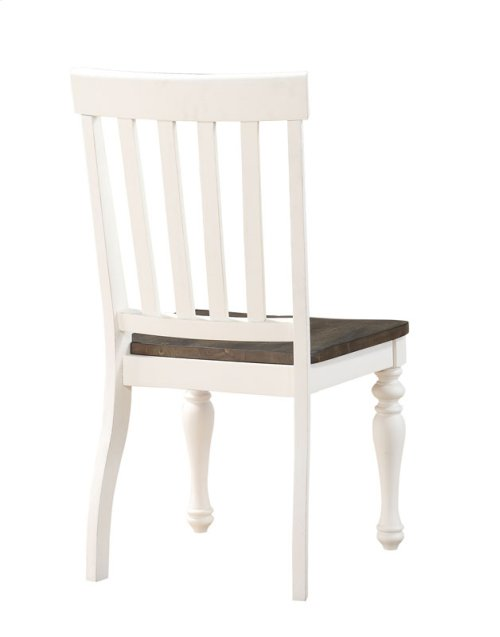 "Joanna Two Tone Side Chair 20""x23.5""x40"""