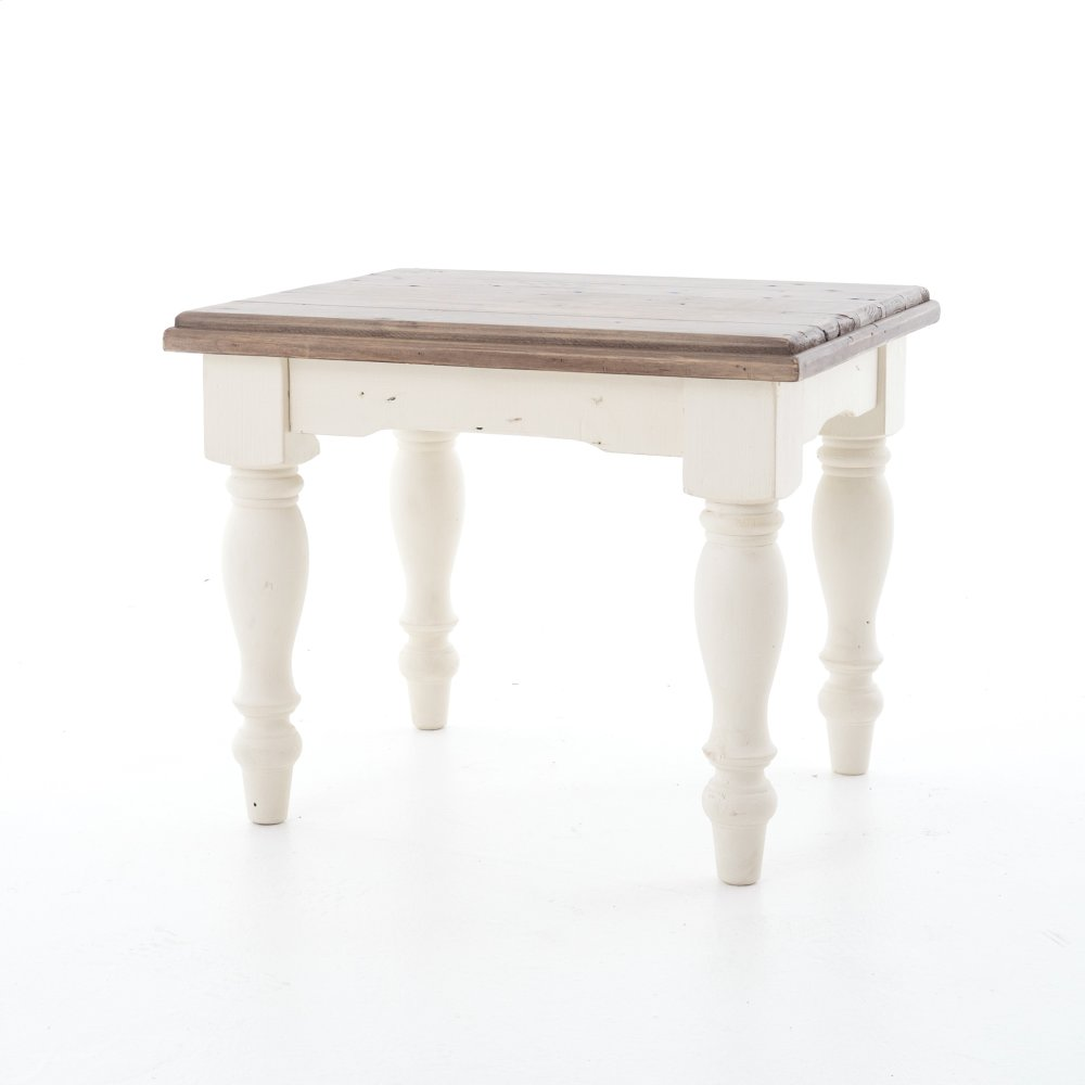 Cornwall Large End Table Sun Ash/stucco