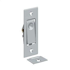 Pocket Door Bolts, Jamb bolt - Brushed Chrome