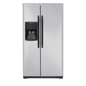 25.6 Cu. Ft. Side-by-Side Refrigerator - SILVER MIST