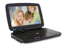 """Portable DVD Player with 10"""" Screen"""