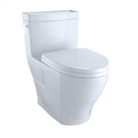 Aimes® One-Piece Toilet, 1.28GPF, Elongated Bowl - Cotton