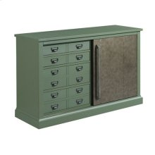 Hidden Treasures Sliding Door Console