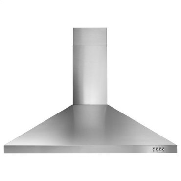"""36"""" Contemporary Stainless Steel Wall Mount Range Hood - stainless steel"""