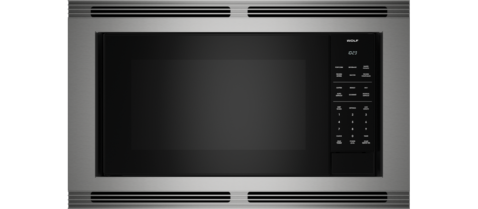 "WolfStandard Microwave 30"" Stainless Trim - M Series"