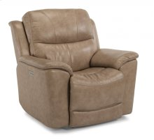 Cade Leather Recliner with Power Headrest