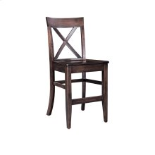 "Maxwell Stationary Barstool, 30"" Seat Height"