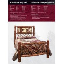 Adirondack Twig Bed