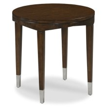 Crescent Round Accent Table