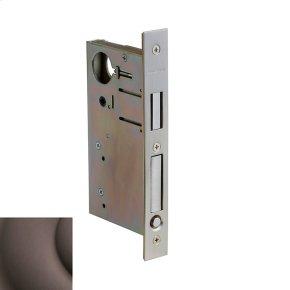 Venetian Bronze 8632 Pocket Door Lock with Pull