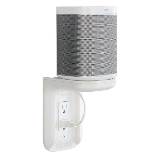 White SANUS Outlet Shelf