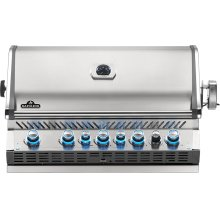 Built-in Prestige PRO 665 RB Infrared Rear Burner , Stainless Steel , Propane