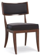 Dining Room Upholstered Klismos Chair Product Image