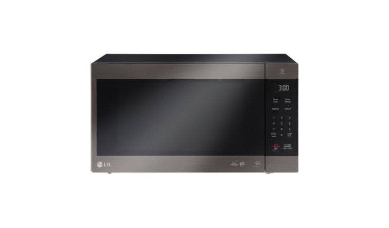 Lg Black Stainless Steel Series 2 0 Cu Ft Neochef Countertop Microwave With Smart Inverter