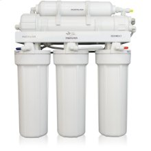 5-Stage Reverse Osmosis System for Treating Difficult or Problematic Well Water with TDS in Excess of 1,000 ppm or mg/l with UV Disinfection.
