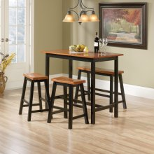 4-Piece Counter-Height Dinette Set