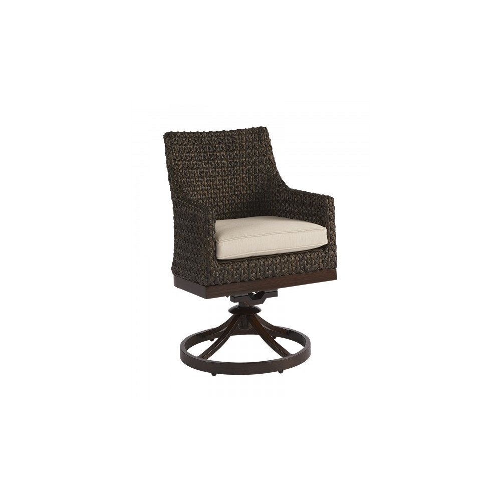 Epicenters Brentwood Outdoor Franklin Wicker Swivel Rocker
