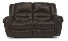 Crosstown Leather Double Reclining Love Seat