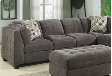 Left Side Facing Sofa With 1 Pillow
