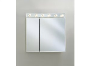 CD Series Cabinet Two Flat Beveled Mirrored Doors Product Image