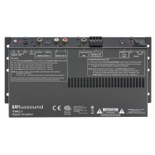 TVA2.1 Digital Two-Channel TV Amplifier with IR Learning and Sub Out