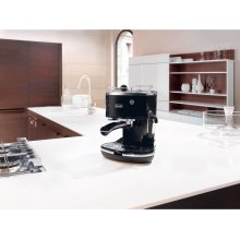 Icona Manual Espresso Machine - Black ECO310BK