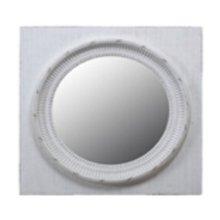 Circle Squared Mirror, Grey