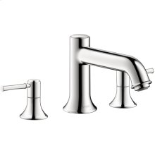Chrome 3-Hole Roman Tub Set Trim