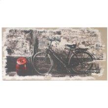 """34134  24x47"""" My Bicycle Wall Art 2EA/CTN"""