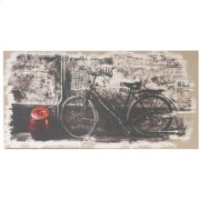 "34134  24x47"" My Bicycle Wall Art 2EA/CTN"