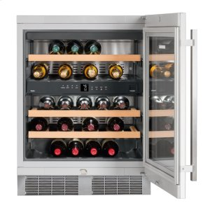 "Liebherr24"" Built-under multi-temperature wine cabinet"