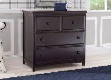 Emerson 3 Drawer Dresser with Changing Top - Dark Chocolate (207)
