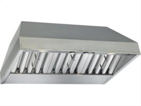 "FACTORY BLEMISH UNIT - 28-3/8"" Stainless Steel Built-In Range Hood with 600 CFM Internal Blower"