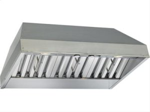 "CLOSEOUT - 28-3/8"" Stainless Custom Hood Insert with 600 CFM Internal Blower"