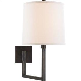 Visual Comfort BBL2029BZ-L Barbara Barry Aspect 14 inch 100 watt Bronze Swing-Arm Wall Light