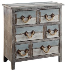 Nantucket 6 Drawer Weathered Wood Chest