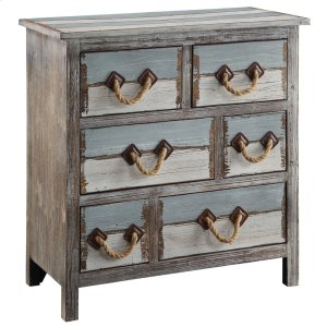 CRESTVIEW COLLECTIONSNantucket 6 Drawer Weathered Wood Chest