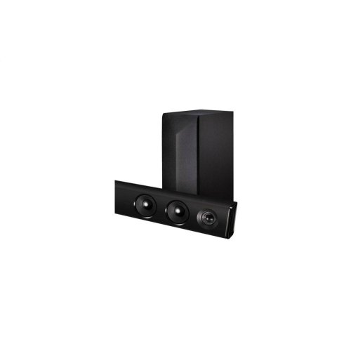 LG LAS485B 2.1 Channel 300W Sound Bar with Wireless Subwoofer and Bluetooth® Connectivity