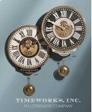 Vincenzo Bartolini Cream, Wall Clock Product Image