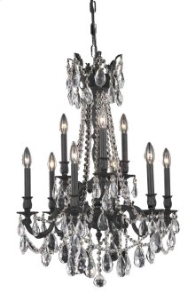 8209 Rosalia Collection Hanging Fixture Dark Bronze Finish