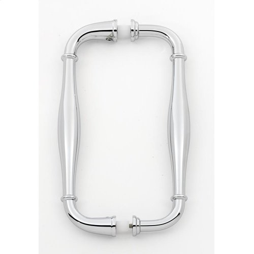 Charlie's Collection Back-to-Back Pull G726-6 - Polished Chrome