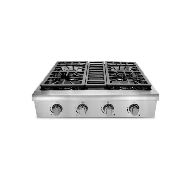 thor kitchen 30 inch professional gas rangetop in stainless steel - Thor Kitchen