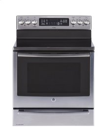 "30"" Free Standing Electric Self Cleaning True Convection Range with Baking Drawer"