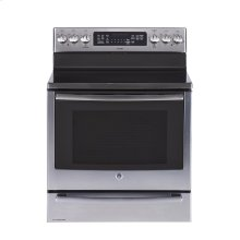"""30"""" Free Standing Electric Self Cleaning True Convection Range with Baking Drawer"""
