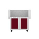 "Hestan30"" Hestan Outdoor Tower Cart with Double Doors - GCD Series - Tin-roof"