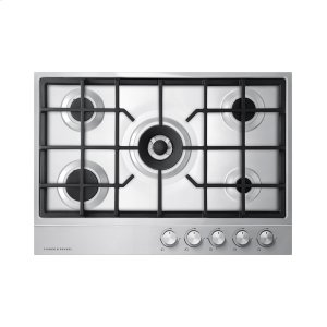 "Fisher & PaykelGas on Steel Cooktop, 36"", LPG"