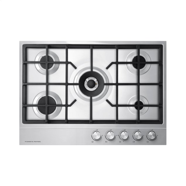 Fisher & Paykel Gas on Steel Cooktop, 30""