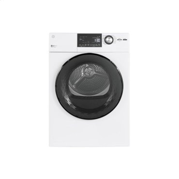 """GE® 24"""" 4.3 Cu.Ft. Front Load Vented Electric Dryer with Stainless Steel Basket"""