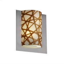 Framed Rectangle 3-Sided Wall Sconce (ADA)