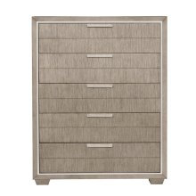 Contemporary Five Drawer Chest
